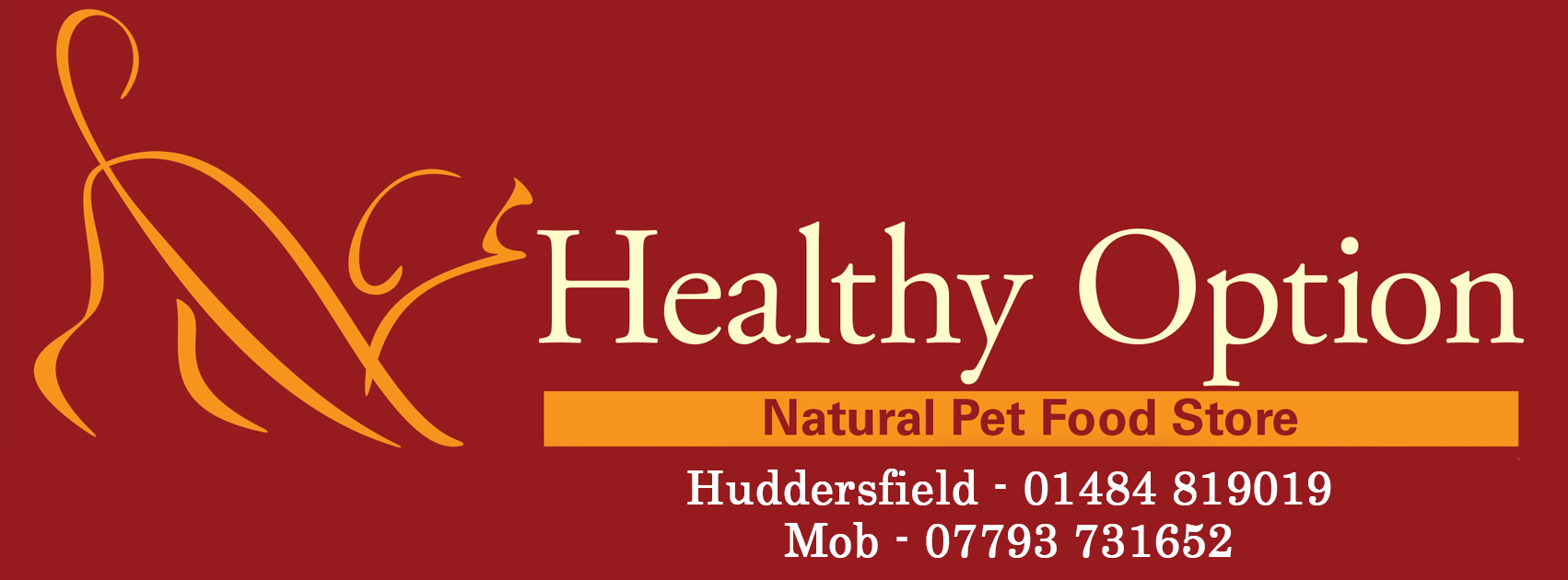 Healthy Option Pet Food Huddersfield